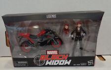 Marvel Legends: Ultimate Black Widow With Motorcycle Figure (2018) Hasbro New