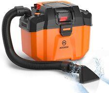 MooSoo Wet/Dry Vacuum Cleaner, 18V Cordless Wet-Dry Vacuum