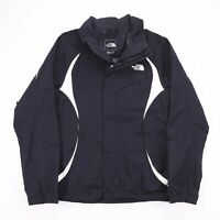 Vintage THE NORTH FACE Black Fitted Zip Up Mesh Lined Jacket Womens Size Medium
