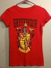 Gryffindor women's Small Red Shirt Harry Potter Licensed