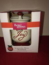 Nib Ceramic Electric Warmer Scented Wax Warmer Joy Love Hope Better Homes