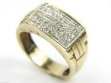 Markenlose Echtschmuck-Ringe mit Diamant für Herren