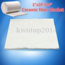 1''x24''x24'' Ceramic Fiber Blanket High Temperature Thermal Heat Insulation