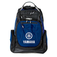 Factory Effex Yamaha Backpack Back Pack Bag Black/Blue Licenced YZ YZF R1 WR NEW