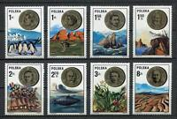 35861) Poland 1973 MNH Polish Scientists 8v. Scott #2002/09