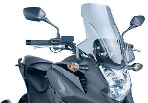 Puig Light Smoke Touring Windscreen/Windshield for 2012-2015 Honda NC700X 5992H