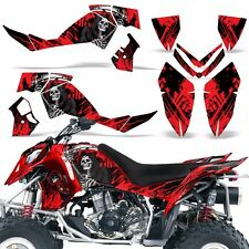 Decal Graphic Kit Polaris Outlaw 500/525 ATV Quad Wrap Deco 2006-2008 REAP RED