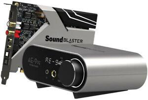Creative Sound Blaster AE-9 PE High-End PCIe 5.1 Soundkarte mit Verstärker