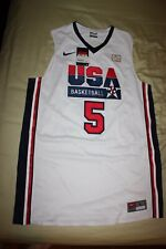 NEW Men's Nike 2012 Olympics Team USA #5 Kevin Durant Basketball Jersey-Size L