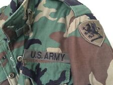 Rear-SPECIAL OPS U.S. Army Jacket With Black Dragon Patch