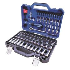 New!!! Kobalt 118-Piece Standard Metric Combo Polished Chrome Mechanics Tool Set