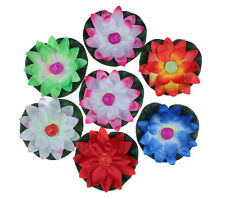 10x Floating Lotus Flower Paper Candle Lanterns Wishing Lamp for Wedding Party