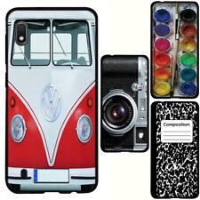 for Samsung Galaxy A10e(Black) Slim Flexible TPU Skin Phone Case Cover-H