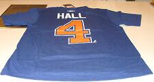 Edmonton Oilers Taylor Hall XL Reebok Name Number Logo T Shirt Hockey NHL Reebok