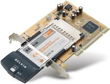 BELKIN Pre-N Wireless WiFi MIMO G Desktop PCI LAN Card