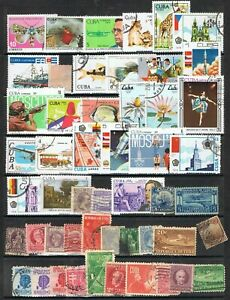 CARIBBEAN - Lot of old stamps