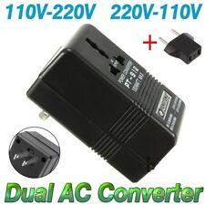 100W Converter Adapter AC 110V/120V to 220V/240V Up Down Volt Transformer + EUEG