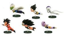 6pcs/set Anime Dragon Ball 30th Fly Run Sun Goku PVC Figures Model Great Gift