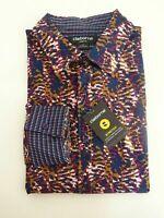 Men's Claiborne Big & Tall Cotton Flip Cuff Designer Shirt NWT
