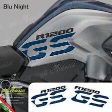 Set Adesivi Fianco Serbatoio Moto BMW R 1200 gs LC Blu Night