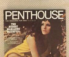Penthouse UK Mens Magazine 1968 Vol 3 No 12 Annalise Hoffman Cover & CF BB