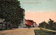 Warren Pennsylvania Avenue Street Scene Historic Bldgs Antique Postcard K48283