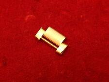 BAUME MERCIER FULL SOLID 18K RIVIERA 14.7MM SINGLE LINK FOR 20MM BAND BRACELET