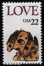 USA postfris 1986 MNH 1787 - Honden / Dogs (h147)