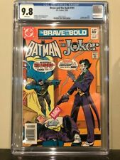 BRAVE AND THE BOLD #191 CGC 9.8 JOKER PENGUIN APPEARANCE
