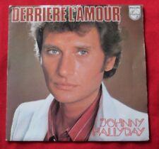 Disques vinyles pour chanson française, Johnny Hallyday 17 cm