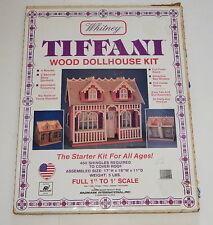 Whitney Tiffani Wood Dollhouse Kit Radmark International Starter Diy in Box