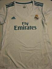 REAL MADRID Soccer JERSEY White WOMEN's Adidas Original Tagged, New Model!