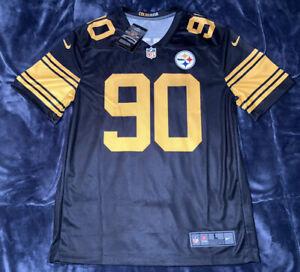 T.J. Watt Pittsburgh Steelers Black Color Rush Legend Jersey - S,M,L,XL,2XL