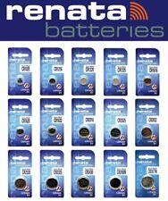 Piles boutons CR RENATA CR1025 à CR2477 pile lithium 3V