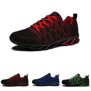 Mens Sport Athletic Breathable Jogging Walking Running Sneakers Shoes Casual New