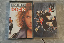 2 cassettes lot. INXS Kick and X. FREE SHIPPING!!