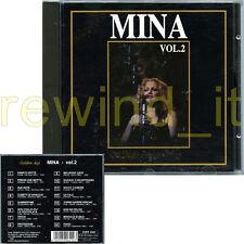 "MINA ""MINA VOL.2 GOLDEN AGE - ORIGINAL RECORDINGS"" RARO CD 1992 ITALY"