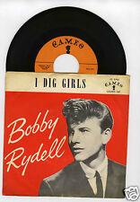 45 RPM SP BOBBY RYDELL I DIG GIRLS (CAMEO 1959)