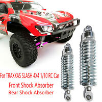 Metal Front Rear Shock Absorber Damper Accessories For TRAXXAS SLASH 4X4 RC Car