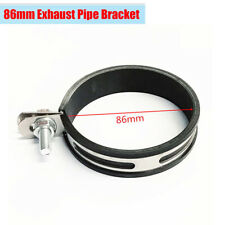 86MM Motorcycle Exhaust Muffler Pipe Hanger Mount Bracket Stainless Steel 1pc