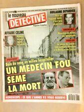 MAGAZINE NOUVEAU DETECTIVE N°536 / 1992 / POITIERS, UN MEDECIN FOU SEME LA MORT