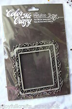 CHIPBOARD Fancy FRAMES x 2 - Inside measure 65x75mm & 51x59mm across CMC Petaloo