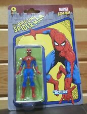 Spider-Man Retro Marvel Legends Kenner Action Figure 3.75""