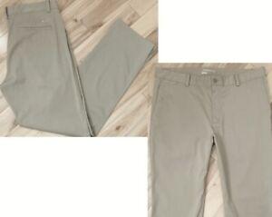 NIKE GOLF DRI-FIT FLAT FRONT PANTS MEN'S SIZE 36 x 32