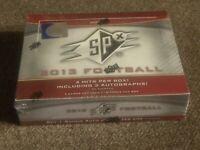 2013 UPPER DECK SPX NFL FOOTBALL HOBBY FACTORY SEALED BOX