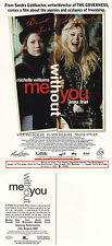 ME WITHOUT YOU THE MOVIE UNUSED ADVERTISING COLOUR POSTCARD