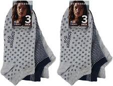 6 Paar Schiesser Damen Sneaker Socken Baumwolle mit Elasthan 35-38 SO4