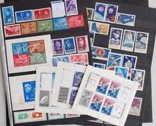 ROMANIA 1960`s SPACE, XF MNH** Set+Sheet Collection, Satellite, Moon Rockets