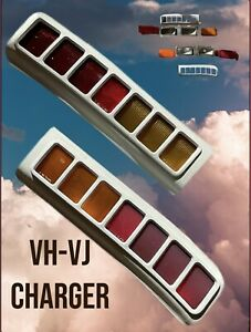 Chrysler Valiant Charger VH VJ Rear Tail Lights. Free Express Shipping Auspost.