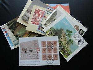National Postal Museum Postcards 1983 - 86 Special Postmarks NPM Numbered (F1)